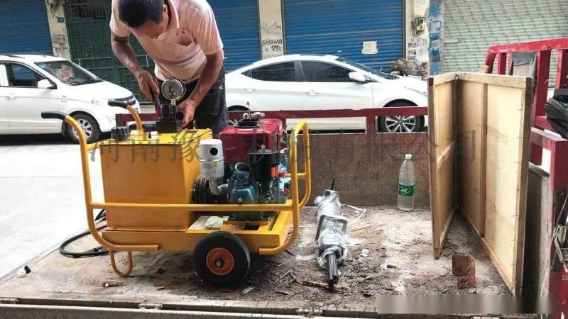 江苏液压岩石劈裂机 多少钱一台 欢迎抢购
