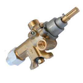 厂家直销西厨餐饮设备燃气安全保护铜阀门开关GFV019