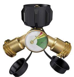 户外燃气气罐转接头 丙烷气罐转换接头 气罐减压阀北美