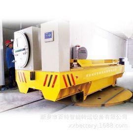 厂家轮对电动转盘转运台车十字轨道转运转盘