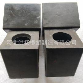 鑿巖機用橡膠墊塊 橡膠耐磨減震墊塊 方形橡膠防撞塊