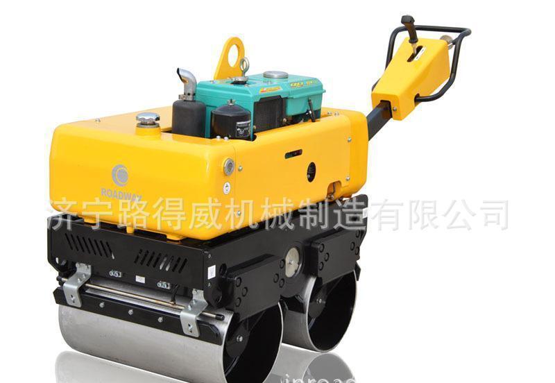 水冷柴油机手扶式液压振动压路机 RWYL33S(人力转向)