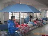 帆布沙灘傘定製、鋁合金傘架帶轉向沙灘傘、棉質帆布沙灘遮陽傘