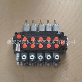 ZT-L12E-5OT带拉杆随车起重机液压多路阀