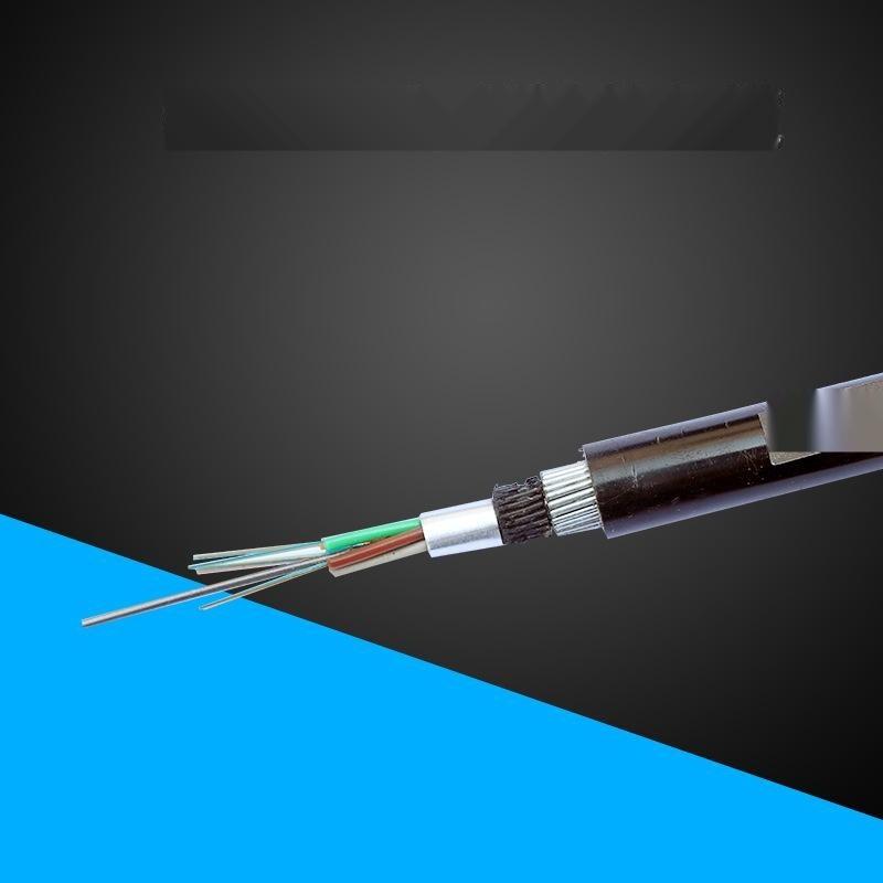 钢丝铠装光缆 室外重铠装海底光纤 层绞防鼠防潮直埋光纤缆