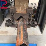 直销方管切断模 管材冲断机器 铁管冲断冲孔一体机