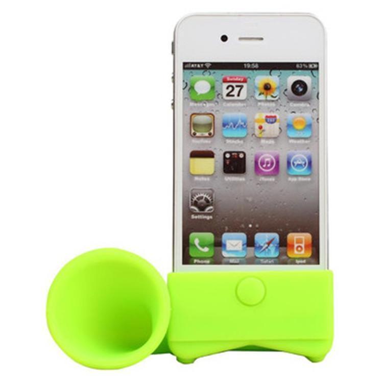硅胶扬声器 IPHONE鸡蛋扩音器 硅胶喇叭 硅胶手机座 硅胶音箱