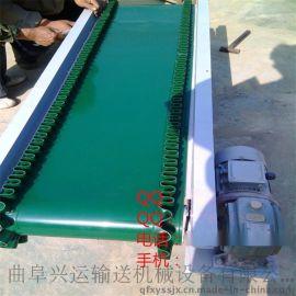 上料皮带输送设备 定制爬坡装卸输送机y2