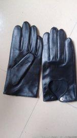 厂家直销,羊皮女式运动手套。