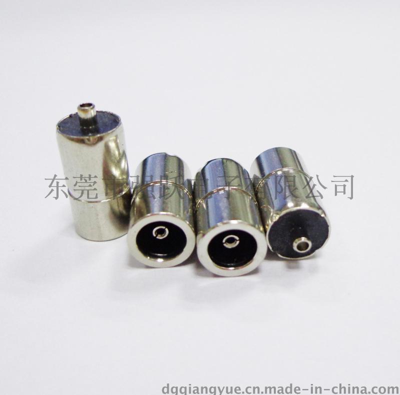 焊線注塑試DC母頭5510DC插座5510*8.0生產廠家