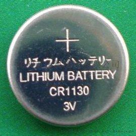 数码相框电池CR1130扣式电池厂家