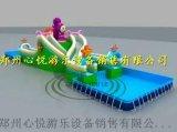 鄭州心悅充氣水滑梯高質量水上闖關樂園