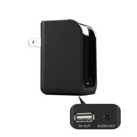 5V足2A ipad充电器 3.5MM通用桌面音响蓝牙音乐接收器无线接收器TS-BTUC01美规