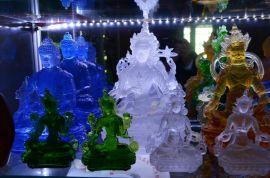 古法琉璃佛像,深圳琉璃,深圳琉璃工艺品