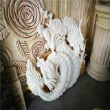 砂岩雕塑 浮雕龙  背景墙 人造砂岩龙飞凤舞造型定制