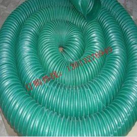 玻璃厂钢化炉专用阻燃通风管 耐高温伸缩绿色胶管 质优价廉