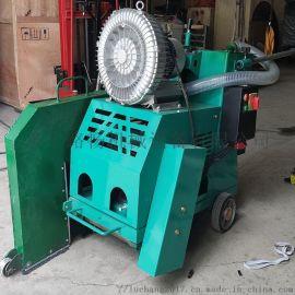 干式无尘马路切割机环保吸尘路面切割缝机