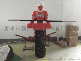 综合材质雕塑-室内雕塑