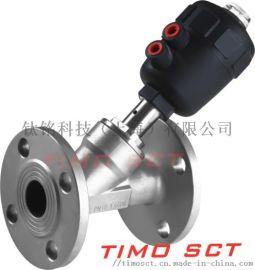 气动角座阀  钛铭科技 timosct