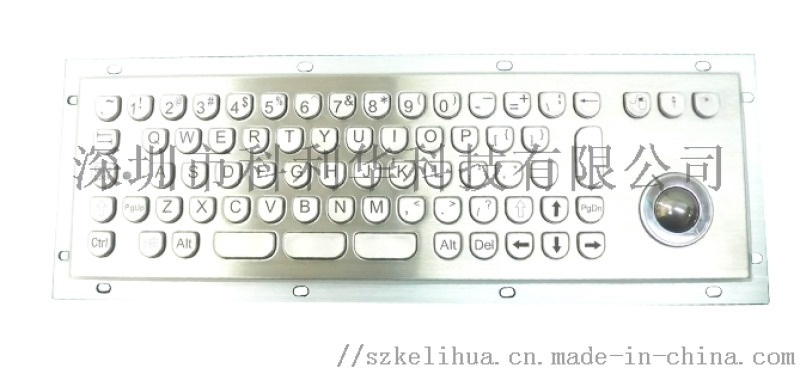科利華半圓按鍵金屬鍵盤K-284X