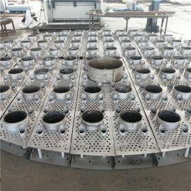 技术探讨升气管盘式分布器也称盘式气液分布器性能特点
