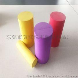 eva抽条圆柱 彩色珍珠棉圆柱 eva线性切割
