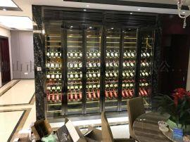 不锈钢恒温酒柜   展示柜   展示架陈列柜定制