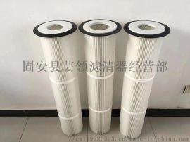 厂家**聚酯纤维无纺布滤芯 塑料盖仓顶除尘滤芯