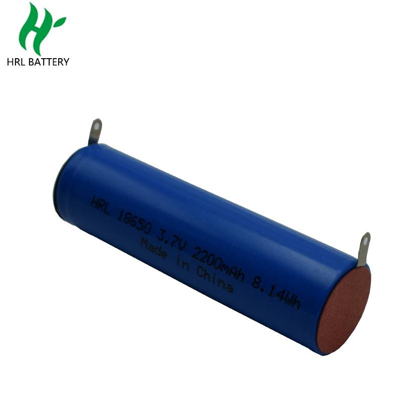 18650 2200mah3.7V 美容仪圆柱电池