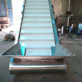 铝材爬坡输送机 铝型材皮带机铝型材输送带 六九重工