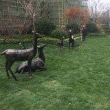 厂家定制城市不锈钢园林动物雕塑绿地广场雕塑摆件