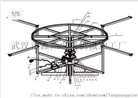 智能感应电动餐桌转盘机芯