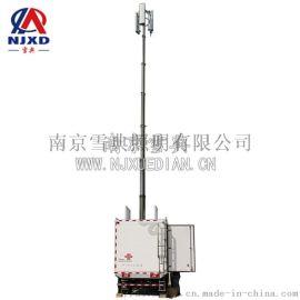 应急通信保障车及天线升降系统设备