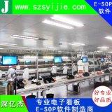深亿杰sop展示系统/电子看板系统