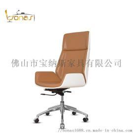 真皮办公椅,北欧转椅 会议室椅,电脑椅 书桌转椅