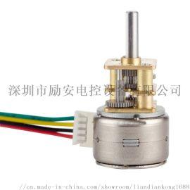 厂家直供微型直流有刷步进电机减速马达