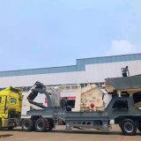 輪胎式車載石料破碎機廠家 濟南移動碎石機嗑石機