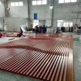 圓柱包邊型材鋁方管 花式造型木紋鋁方管