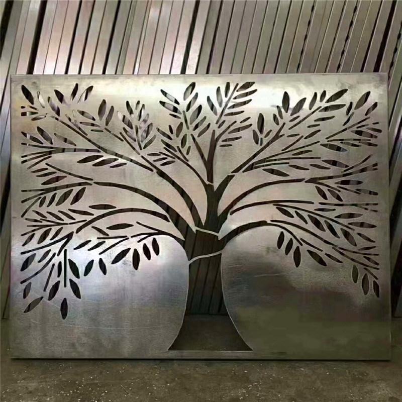 复古造型雕花铝单板 仿古镂空雕花铝单板