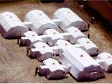 衛生應急充氣帳篷 白色帳篷圖片