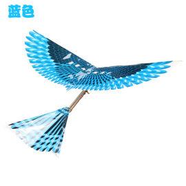 大号长橡皮筋动力飞鸟 成品大鸟 扑翼机 尾部可调节 地摊热卖