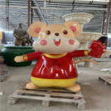 广州吉祥物雕塑 玻璃钢卡通雕塑