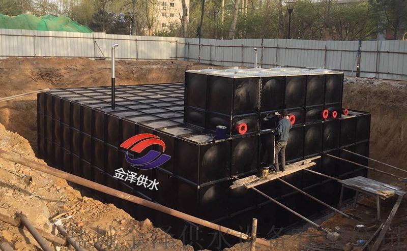 全面銷售地埋式消防箱泵一體化增壓給水設備