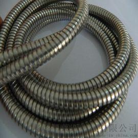 潍坊内径25双扣不锈钢铠装波纹管