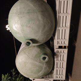销售玻璃钢蓄水池模压式污水处理化粪池