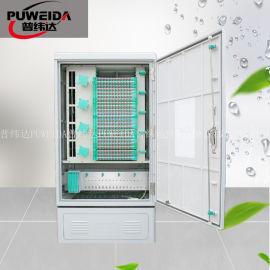 室外576芯光缆交接箱落地式安装