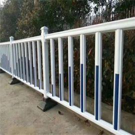 现货供应喷塑锌钢方管插接护栏网 金属铁艺栅栏道路隔离栏