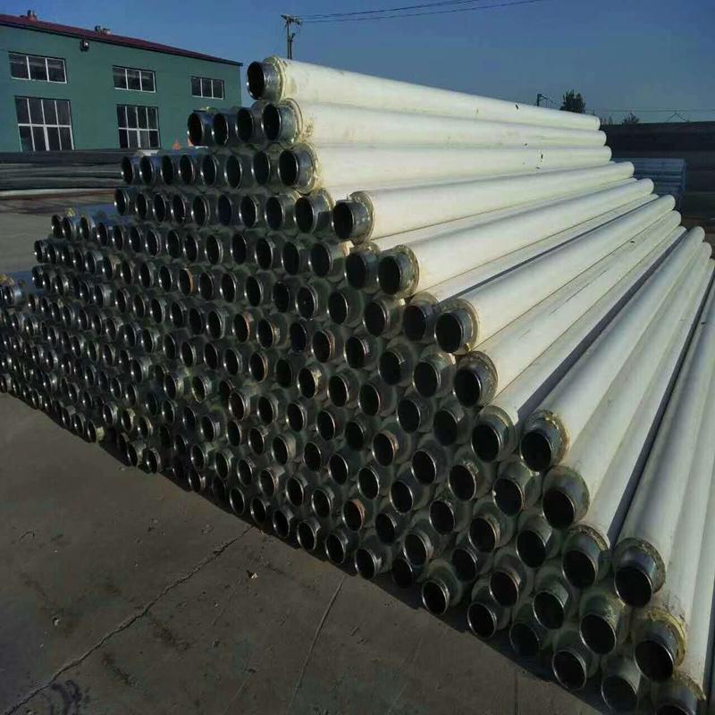 聚氨酯发泡采暖管道 聚氨酯无缝钢管现货