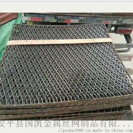 建筑业新型阻燃脚手架踩踏板 菱形钢笆网扩张网钢笆片
