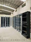 黑钛拉丝酒窖不锈钢酒柜设计常温酒柜定制不锈钢酒柜